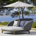PEACOCK DAYBED  z parasolem CLASSIC 5561GIT_5561YSN96_58240TY507