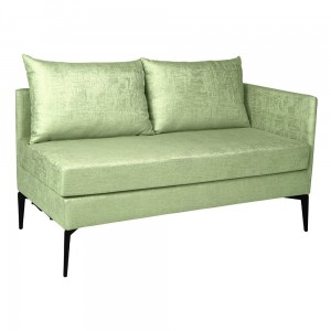 MARTA sofa 2 osobowa ( element lewy )  fern green