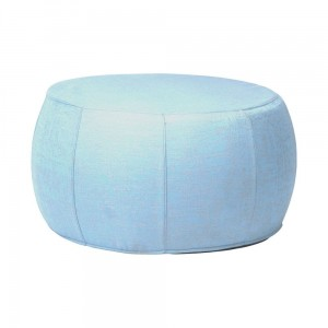 POUF light blue