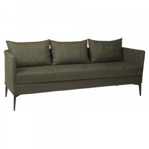 MARTA sofa 3 osobowa dark green