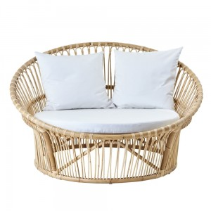 LOVE NEST  fotel rattanowy Natural