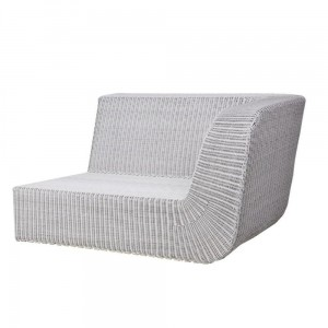 SAVANNAH sofa 2 osobowa lewa white-grey