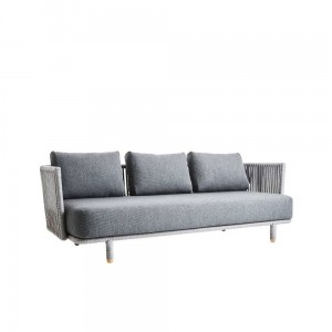 MOMENTS Cane-line sofa 3 osobowa