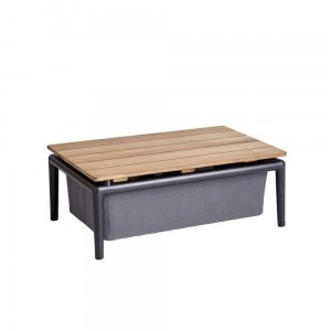 CONIC Cane-line stolik Box Table Grey
