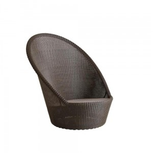 KINGSTON SUNCHAIR Cane-line obrotowy fotel MOCCA
