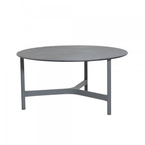 TWIST coffee table, large, light grey
