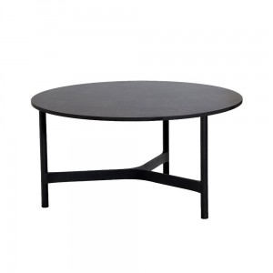 TWIST coffee table, large, lawa grey