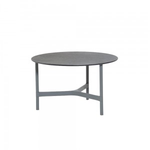 TWIST coffee table, medium, light grey