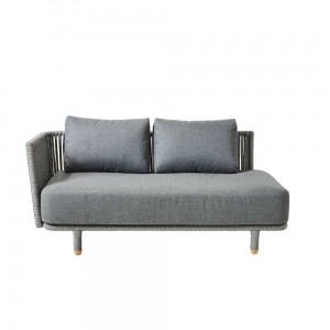 MOMENTS Cane-line sofa prawa