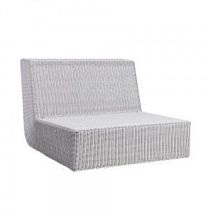SAVANNAH sofa moduł prosty white-grey