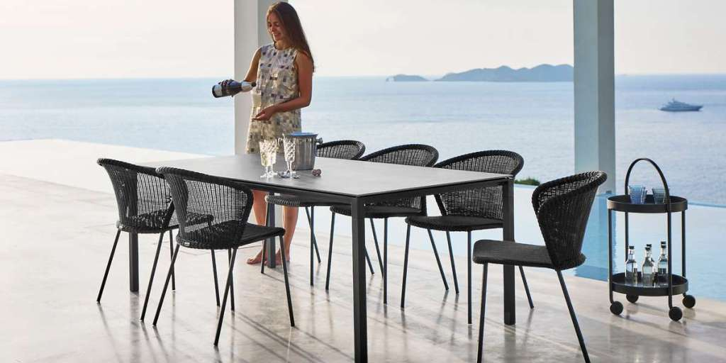 LEAN outdoor furniture Cane-line