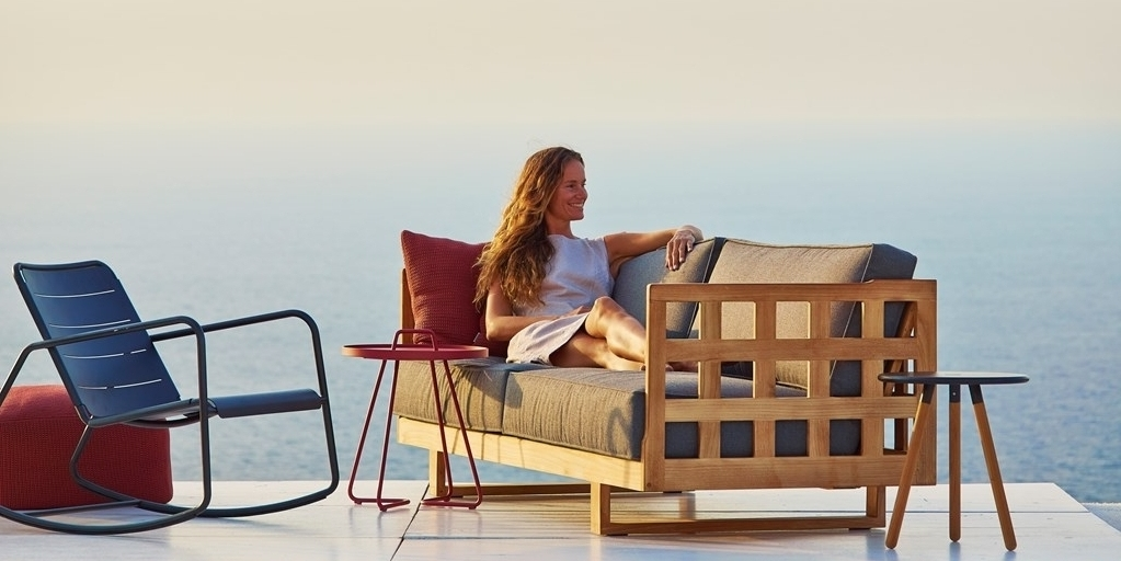 SQUARE outdoor furniture Cane-line