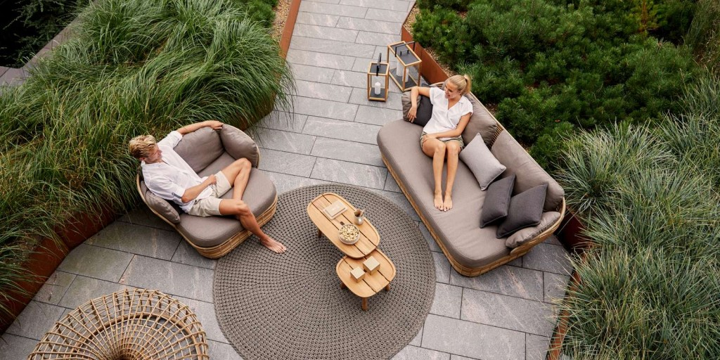 Basket Lounge Cane-line Outdoor Furniture
